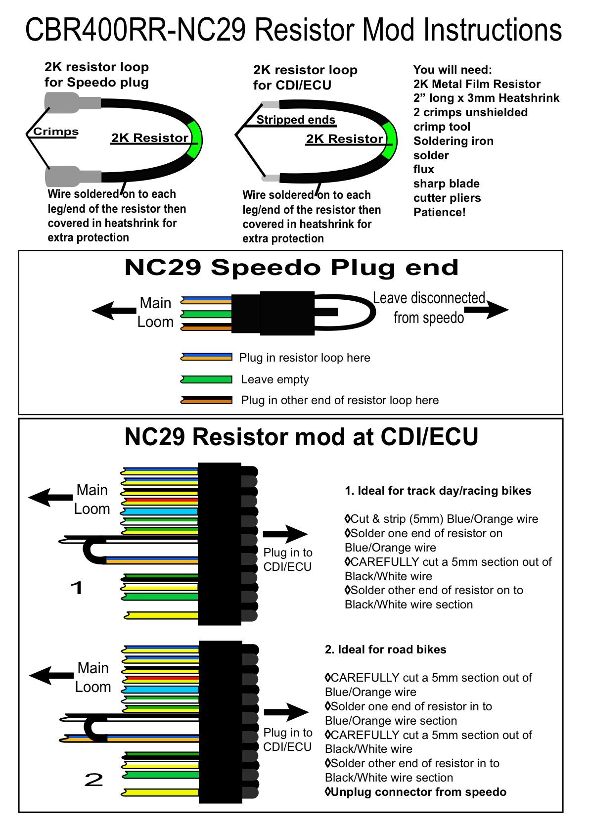 Nc29 Wiring Diagram : Greybike ultimate performance
